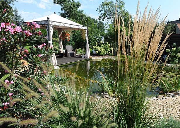 Gartengestaltung vom Landschaftsgärtner