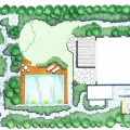 Gartenplanung mit Naturstein
