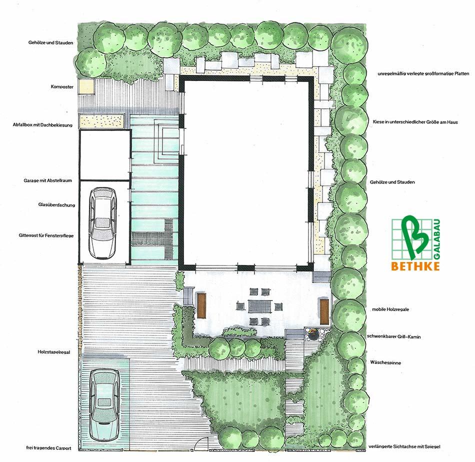 Gartenplanung beispiele for Wohndesign leipzig