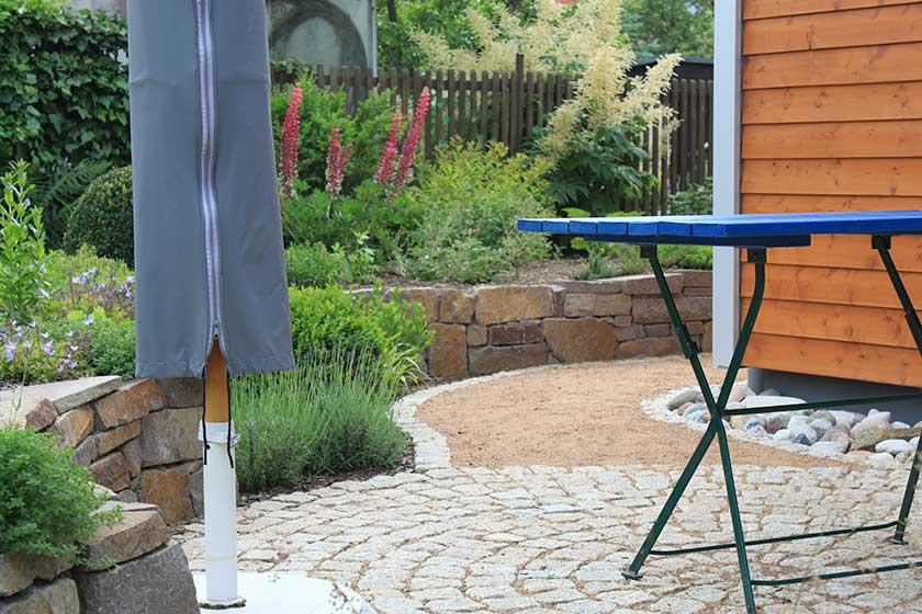 terrasse wege und natursteinmauer bethke garten und landschaft. Black Bedroom Furniture Sets. Home Design Ideas