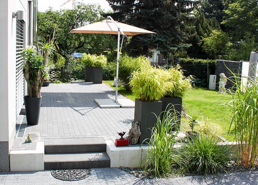 Terrasse Hoher Als Garten Der Gartencop